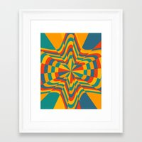 trippy Framed Art Prints featuring Trippy by Ashley