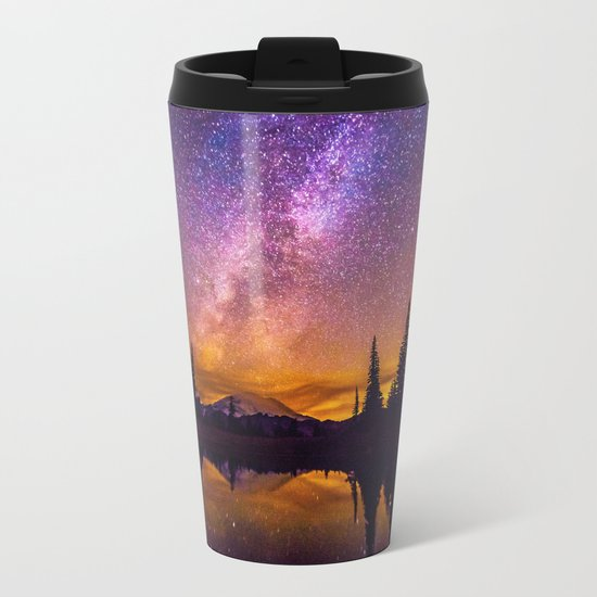 Milky Way Metal Travel Mug