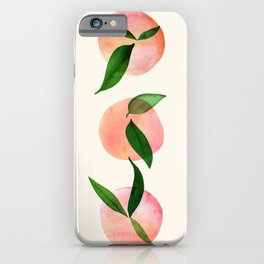 Abstract Orchard / Watercolor Fruit iPhone Case
