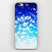 martell iPhone & iPod Skins featuring Under the Same Sky by G Martell