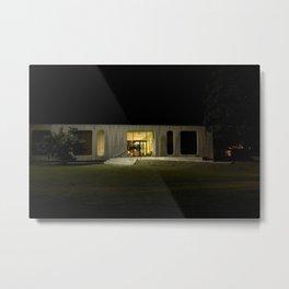 Building at Night Metal Print