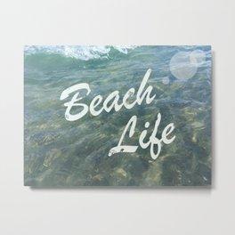 Beach Life Metal Print