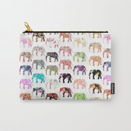 Floral Herd Carry-All Pouch