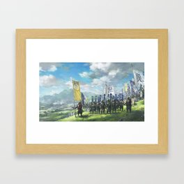 Sengoku Jidai Framed Art Print