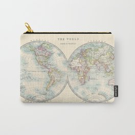 Hemispheres Carry-All Pouch