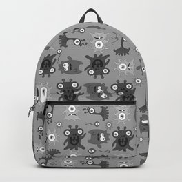 Colorful monsters Backpack