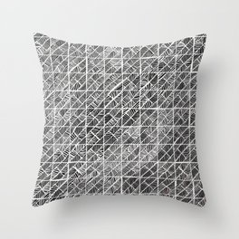 Spider Web Inverted Throw Pillow