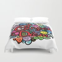 carpe diem Duvet Covers featuring Carpe Diem by Cindys