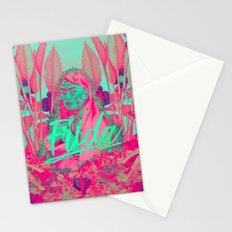 Frida Kahlo neon II Stationery Cards