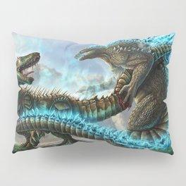 Godzilla VS. Atomic Rex Pillow Sham