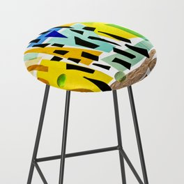 Floating Black Bar Stool