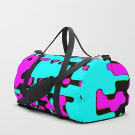 jitter, violet and blue 7 Duffle Bag