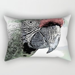 CArt parrot Rectangular Pillow