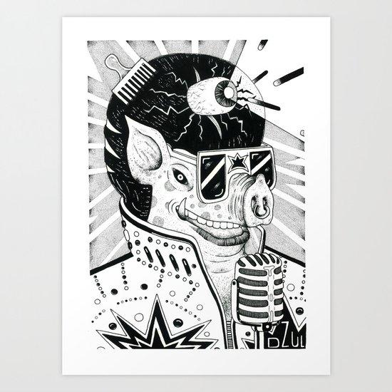 cerdo soulero Art Print