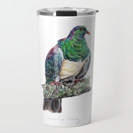 New Zealand Wood Pigeon Travel Mug