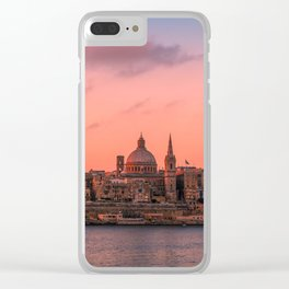 MALTA 03 Clear iPhone Case