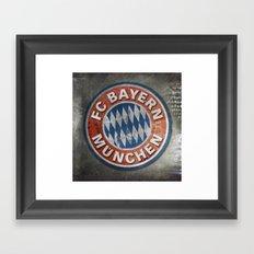 FC Bayern Munchen Framed Art Print