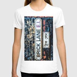 London Brick Lane sign  T-shirt
