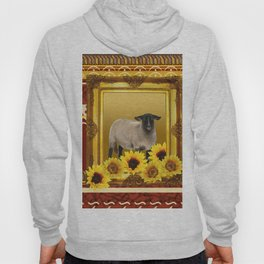 Frame Design yellow Sheep Hoody