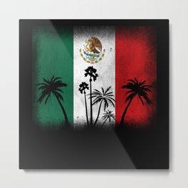 Mexico Flag Metal Print
