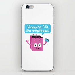 Retail Therapy iPhone Skin