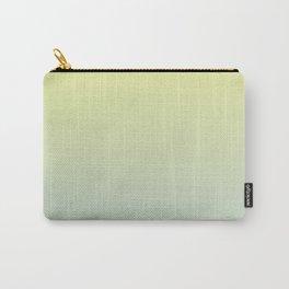 PARADISE COME - Minimal Plain Soft Mood Color Blend Prints Carry-All Pouch