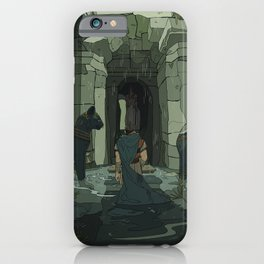 Where are you leading me? iPhone Case