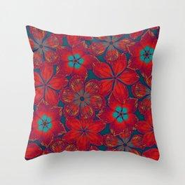 NEW BAUHINIA Throw Pillow