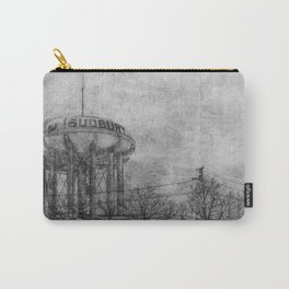The Sudbury Water Tower B&W Carry-All Pouch
