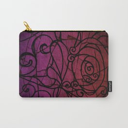 Scarred Rose Carry-All Pouch