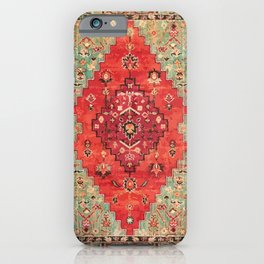 N114 - Vintage Old Antique Oriental Moroccan Artwork. iPhone Case