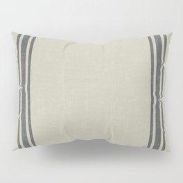 Grey on Linen King sham Pillow Sham