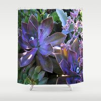secret life Shower Curtains featuring The Secret Life of Plants by Slow Toast