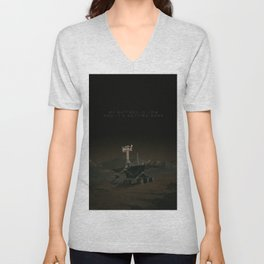My battery is low and it's getting dark. Unisex V-Neck