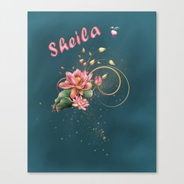Name Sheila Canvas Print