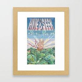 welcome baby! Framed Art Print