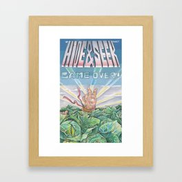 welcome baby! Framed Art Print