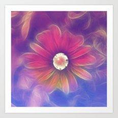 Flower Fantasy 2 Art Print
