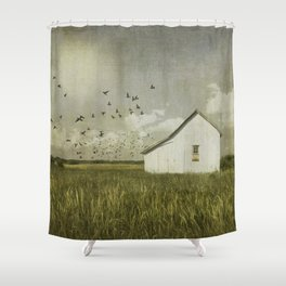 The Seed Dealer Shower Curtain