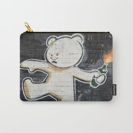 Banksy's Big Bad Bear Carry-All Pouch