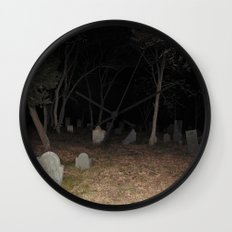 Cemetery Forest Wall Clock