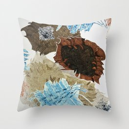 Carbonation Collection: ski Throw Pillow