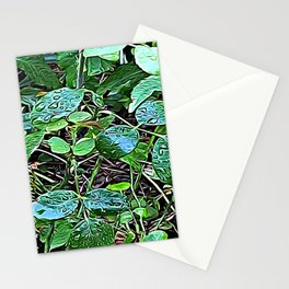 Living Leaves Stationery Cards