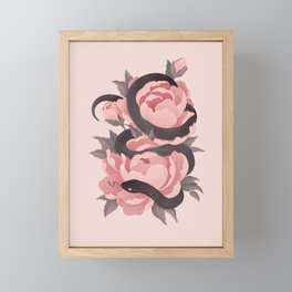 Anguis Framed Mini Art Print