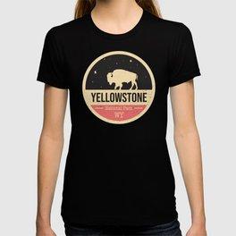 Yellowstone National Park Badge T-shirt