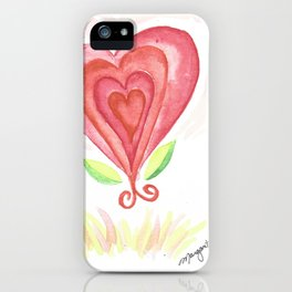 Love Grows iPhone Case