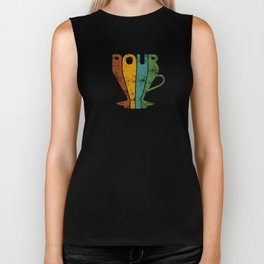 Pour Over Coffee Lover // Abstract Typography Wall Artwork Graphic Design Kettle Biker Tank