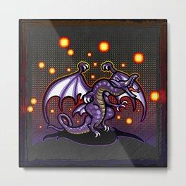Final Fantasy Bahamut Metal Print