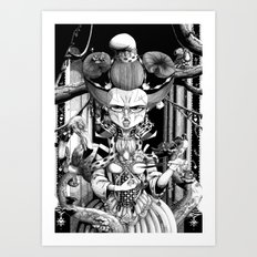 Marianne, the Red Queen Art Print