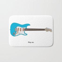 Play On - analog zine Bath Mat
